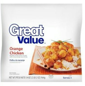 Walmart Great Value Orange Chicken